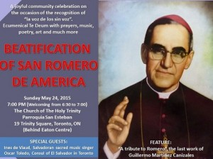 Flyer Romero Beatificacion RD 3