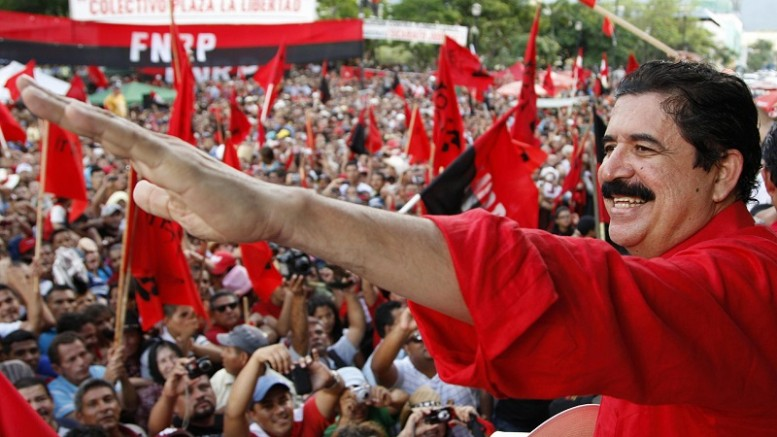 Manuel Zelaya Honduras 1
