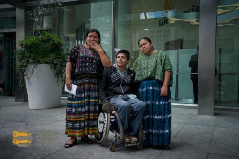 Angélica Choc, Germán Chub y Rosa Elvira en Toronto