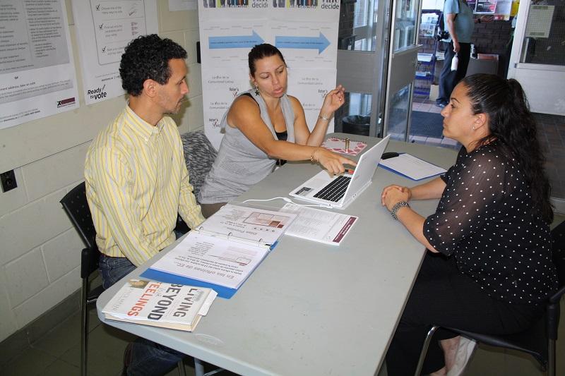 Inauguran Centro de Informacion al Votante