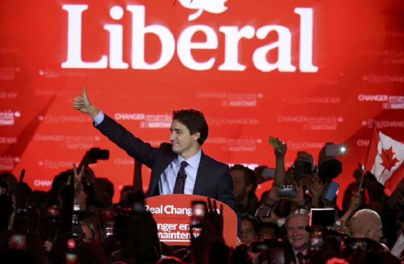 JustinTrudeauElected2015