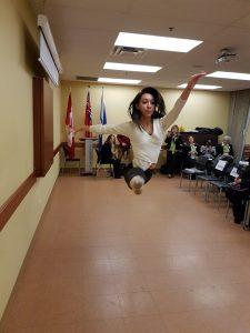 Brenda Rodriguez mostro su talento a la audiencia
