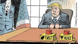 Donald Trump caricatura