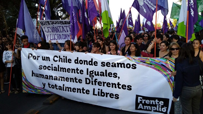 Frente Amplio Chile Toronto